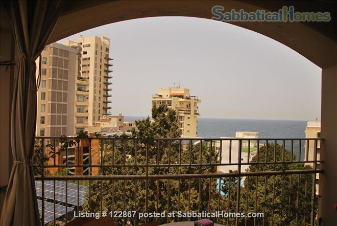 Sunny, Spacious Seaview Flat on Campus Home Rental in Beirut, Mount Lebanon Governorate, Lebanon 7