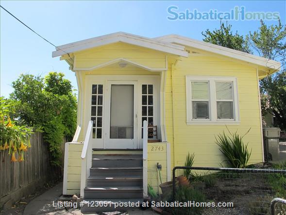 Charming Cottage in Oakland Home Rental in Oakland, California, United States 1