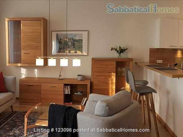 All inclusive, fully furnished, top-floor 2-room apartment with balcony - bright and quiet  in the very heart of Berlin Home Rental in Berlin, Berlin, Germany 4