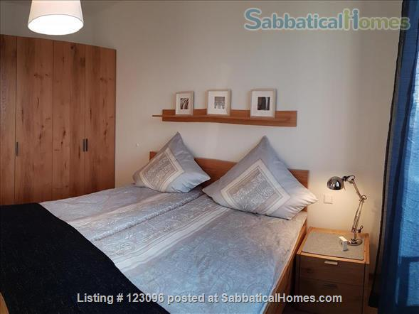 All inclusive, fully furnished, top-floor 2-room apartment with balcony - bright and quiet  in the very heart of Berlin Home Rental in Berlin, Berlin, Germany 6