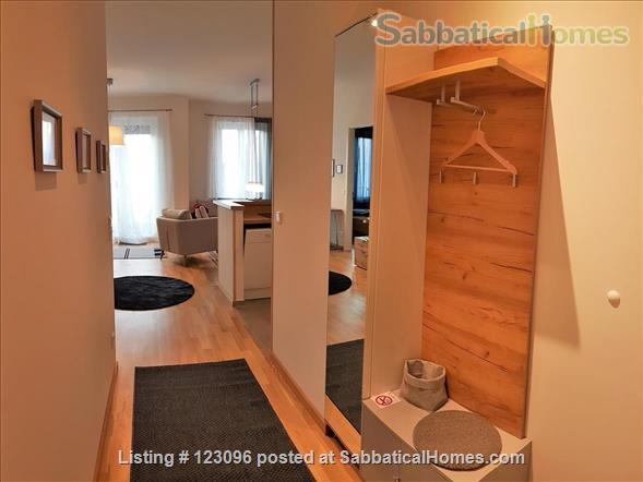 All inclusive, fully furnished, top-floor 2-room apartment with balcony - bright and quiet  in the very heart of Berlin Home Rental in Berlin, Berlin, Germany 7