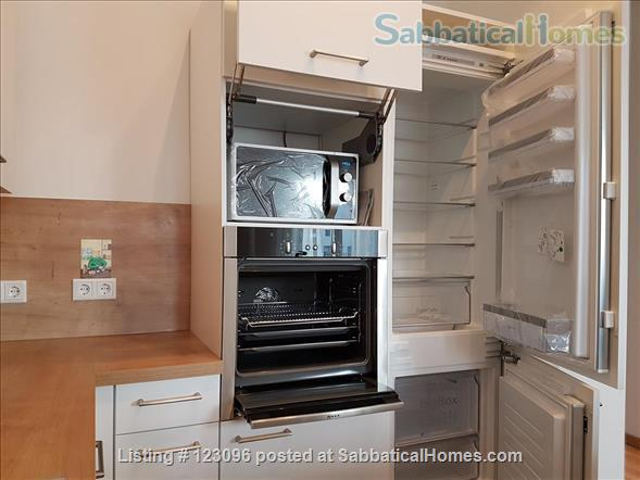 All inclusive, fully furnished, top-floor 2-room apartment with balcony - bright and quiet  in the very heart of Berlin Home Rental in Berlin, Berlin, Germany 8