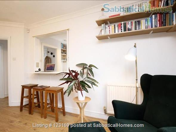 Stylish 1 bedroom flat with private garden - quiet street in Oxford (all inclusive!) Home Rental in Oxford, England, United Kingdom 1