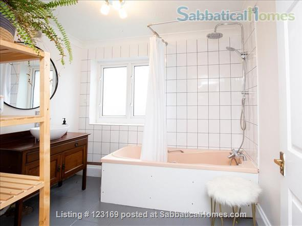 Stylish 1 bedroom flat with private garden - quiet street in Oxford (all inclusive!) Home Rental in Oxford, England, United Kingdom 3