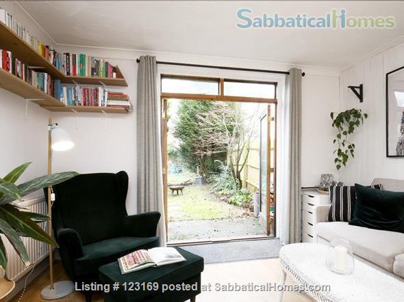 Stylish 1 bedroom flat with private garden - quiet street in Oxford (all inclusive!) Home Rental in Oxford, England, United Kingdom 6