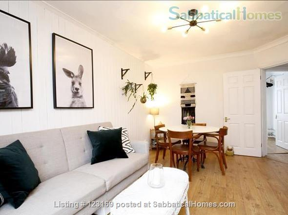 Stylish 1 bedroom flat with private garden - quiet street in Oxford (all inclusive!) Home Rental in Oxford, England, United Kingdom 8