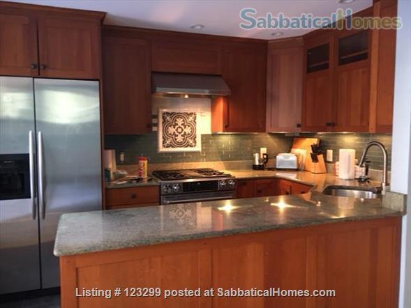 3 bedroom, 3 bath home in Cambridge, with parking and garden Home Rental in Cambridge, Massachusetts, United States 3