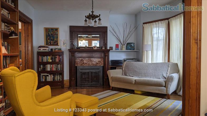 Lovely Victorian in Elmwood Village Home Rental in Buffalo, New York, United States 2