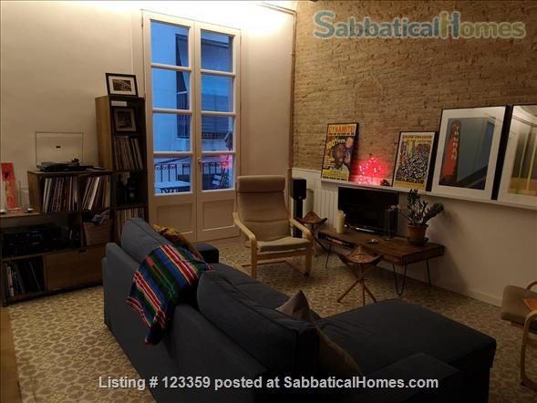 Barcelona centre: 1-bed apartment in Raval Home Rental in Barcelona, CT, Spain 0