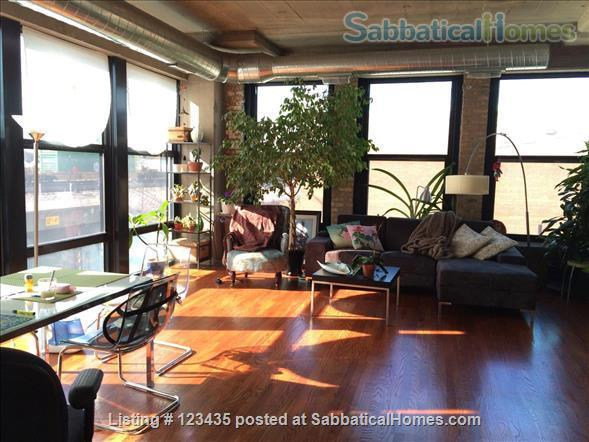 Fully furnished 2 bedroom condo near U Illinois at Chicago Home Rental in Chicago, Illinois, United States 1