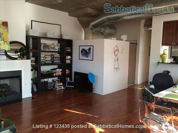 Fully furnished 2 bedroom condo near U Illinois at Chicago Home Rental in Chicago, Illinois, United States 0
