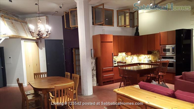 Spacious bright penthouse level artist loft for rent Union Square near MIT Home Rental in Somerville, Massachusetts, United States 1