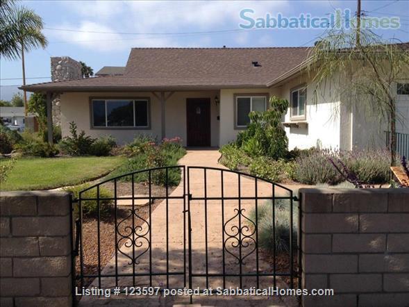 Lovely Remodeled Santa Barbara Home Home Rental in Santa Barbara, California, United States 1