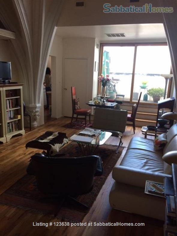 Special furnished Studio Loft in an old Church with terrace and view Home Rental in Kings County, New York, United States 5
