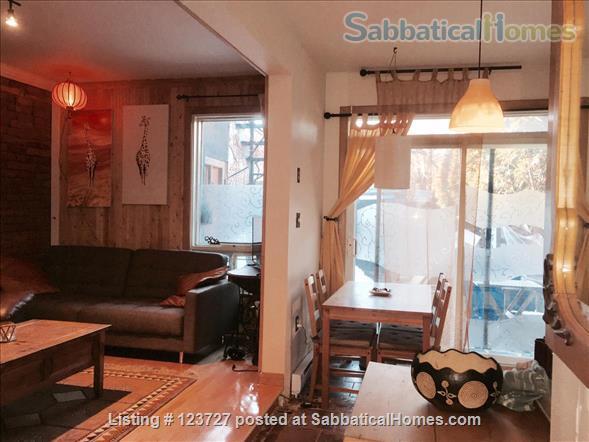 Lovely cozy flat on the Plateau. I also speak Português, Français, Español. Home Rental in Montréal, Québec, Canada 5