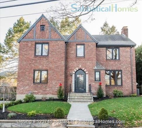 Newly remodeled family home convenient to Boston-area universities Home Rental in Newton, Massachusetts, United States 1