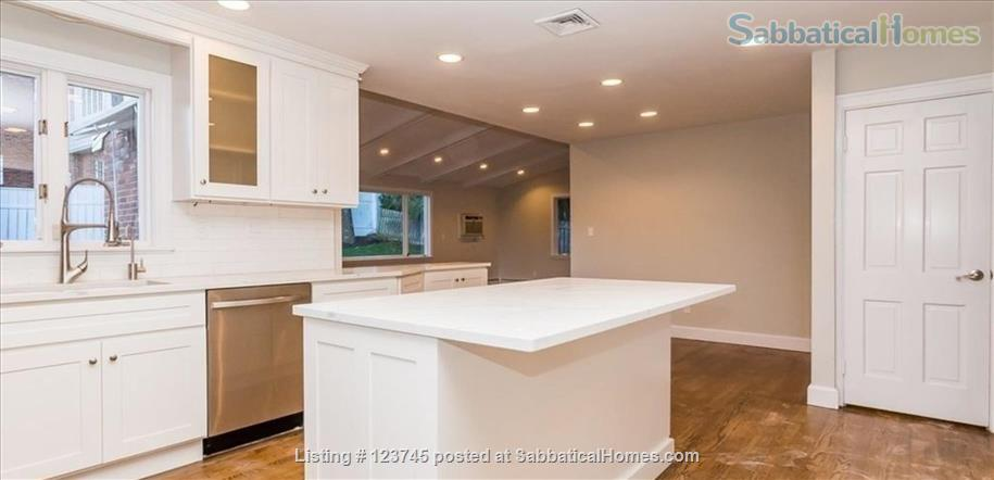 Newly remodeled family home convenient to Boston-area universities Home Rental in Newton, Massachusetts, United States 3