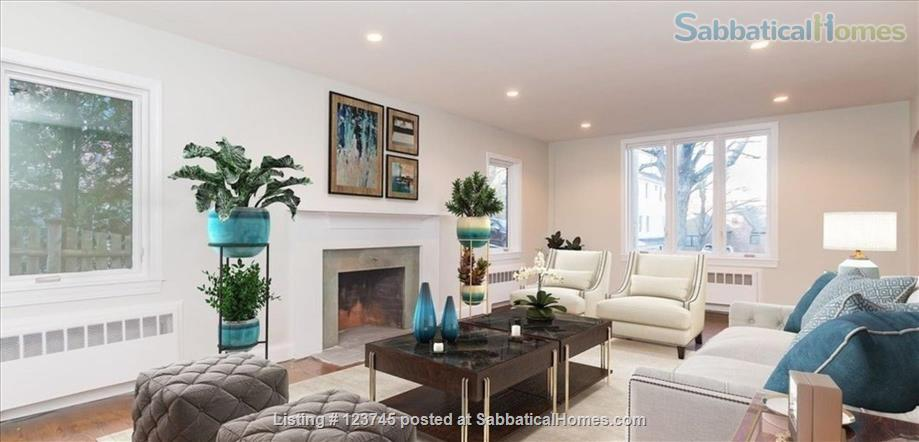 Newly remodeled family home convenient to Boston-area universities Home Rental in Newton, Massachusetts, United States 4