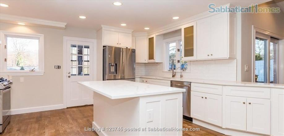 Newly remodeled family home convenient to Boston-area universities Home Rental in Newton, Massachusetts, United States 0