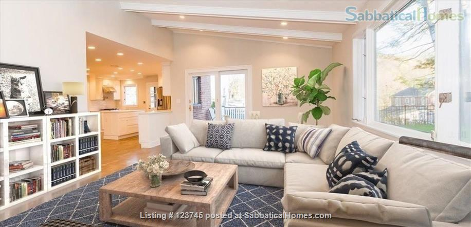 Newly remodeled family home convenient to Boston-area universities Home Rental in Newton, Massachusetts, United States 2