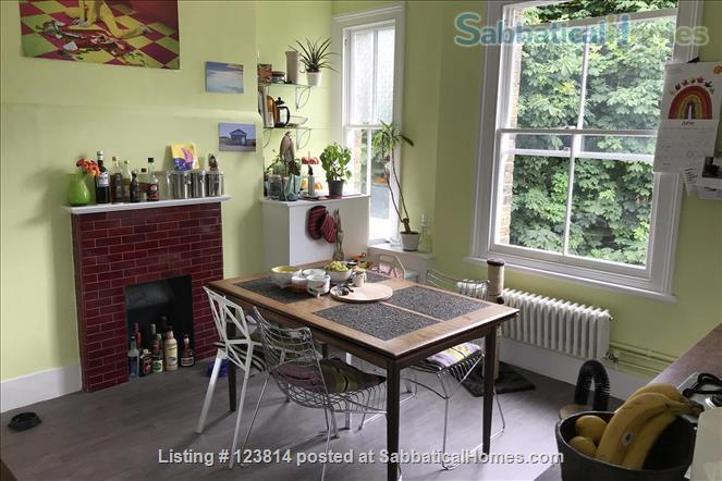Spacious, quiet 1-bed flat (75 sqm) in Highbury/Islington, opposite a park Home Rental in Greater London, England, United Kingdom 1