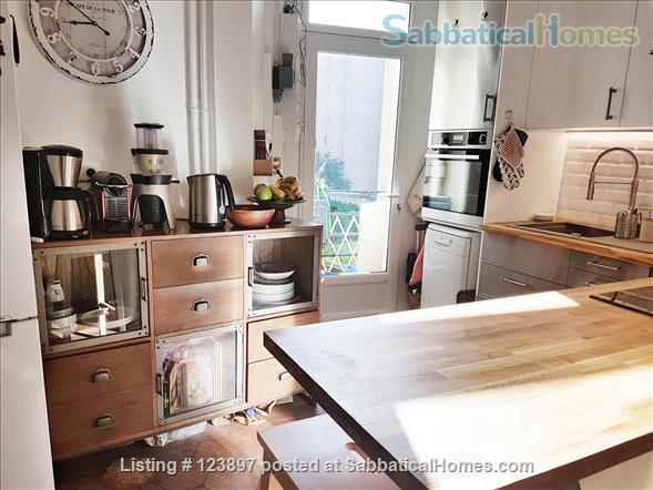 Beautiful 2 bedrooms apartment in the 15th Home Rental in Paris, Île-de-France, France 2