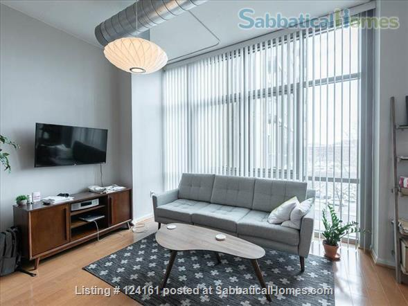 Newly furnished loft 1BR in downtown Washington DC!  Home Rental in Washington, District of Columbia, United States 1