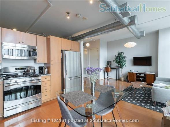 Newly furnished loft 1BR in downtown Washington DC!  Home Rental in Washington, District of Columbia, United States 0