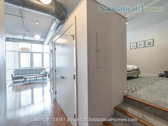 Newly furnished loft 1BR in downtown Washington DC!  Home Rental in Washington, District of Columbia, United States 3
