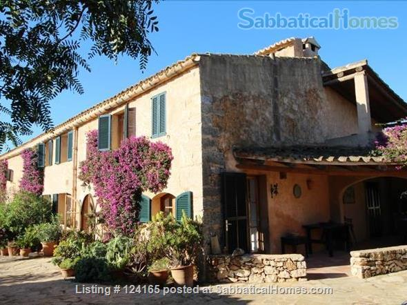 Mallorca: Charming Rustic Villa Long-Term Rental  Home Rental in Santanyí, PM, Spain 1
