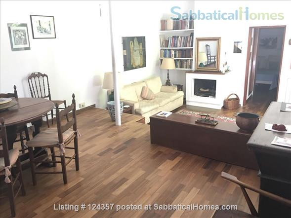 A haven of green and light in the centre of Rome: totally silent independent house with a large roof top terrace and a lush private garden. Home Rental in Roma, Lazio, Italy 4