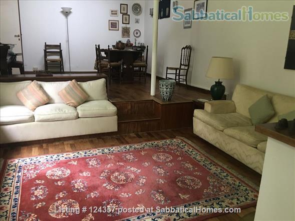 A haven of green and light in the centre of Rome: totally silent independent house with a large roof top terrace and a lush private garden. Home Rental in Roma, Lazio, Italy 5