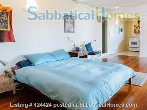 Berkeley Hills: spacious, self-contained apartment  with large private deck in serene park-like setting with wonderful views of  San Francisco and the Bay Home Rental in Kensington, California, United States 0