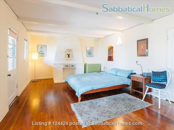 Berkeley Hills: spacious, self-contained apartment  with large private deck in serene park-like setting with wonderful views of  San Francisco and the Bay Home Rental in Kensington, California, United States 2