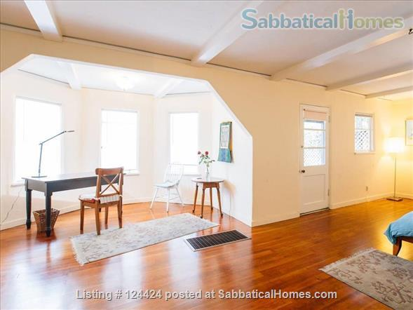 Berkeley Hills: spacious, self-contained apartment  with large private deck in serene park-like setting with wonderful views of  San Francisco and the Bay Home Rental in Kensington, California, United States 3