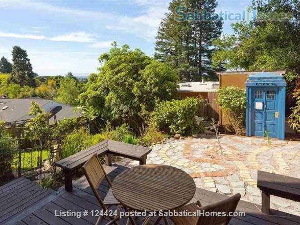 Berkeley Hills: spacious, self-contained apartment  with large private deck in serene park-like setting with wonderful views of  San Francisco and the Bay Home Rental in Kensington, California, United States 4