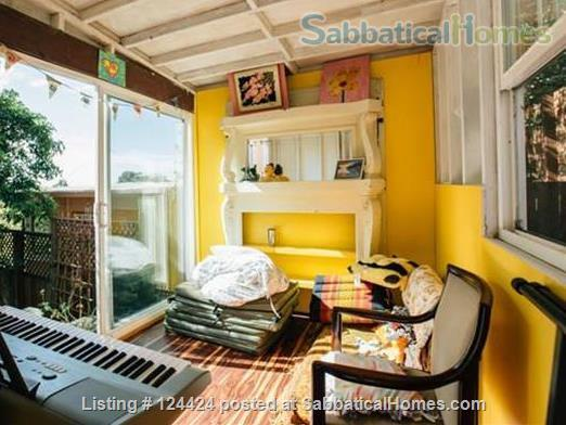 Berkeley Hills: spacious, self-contained apartment  with large private deck in serene park-like setting with wonderful views of  San Francisco and the Bay Home Rental in Kensington, California, United States 6