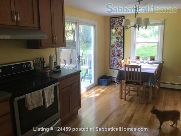 Private room in a quiet, comfortable home near UNH  Home Rental in Durham, New Hampshire, United States 3