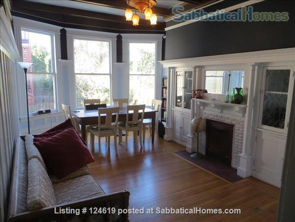 Huge 3 bedroom flat, all utilities included  in a beautiful San Francisco Victorian building. Walk score 98 in the center of the city right next to GG Park! Home Rental in San Francisco, California, United States 1