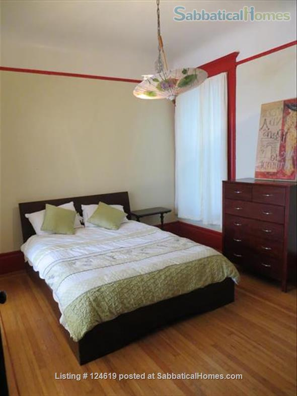 Huge 3 bedroom flat, all utilities included  in a beautiful San Francisco Victorian building. Walk score 98 in the center of the city right next to GG Park! Home Rental in San Francisco, California, United States 8