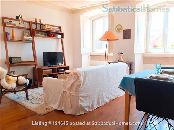 Sunny one-bedroom apartment in central Lisbon Home Exchange in Lisboa, Lisboa, Portugal 1