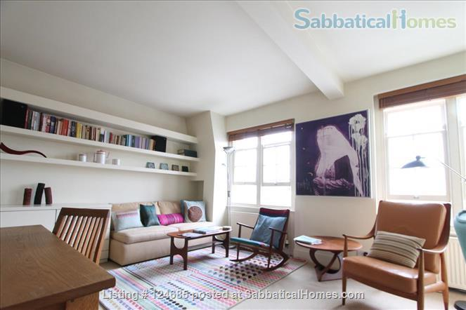 Bright and airy Bloomsbury top floor 1 bedroom  flat with lift  Home Rental in London, England, United Kingdom 1