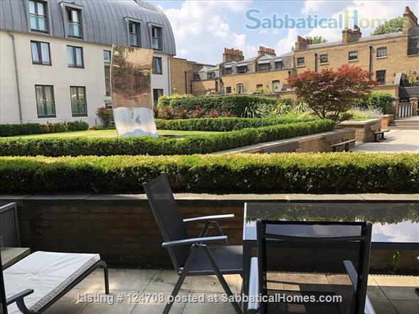 2BD 2BATH Angel Bright and Airy Flat with Patio and Concierge Home Rental in Clerkenwell, England, United Kingdom 1