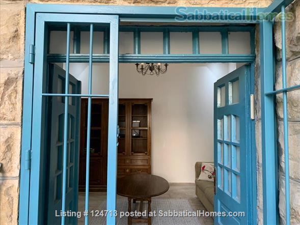 Beautiful 1 bedroom off of Emek Rephaim with private garden Home Rental in Jerusalem, Jerusalem District, Israel 2