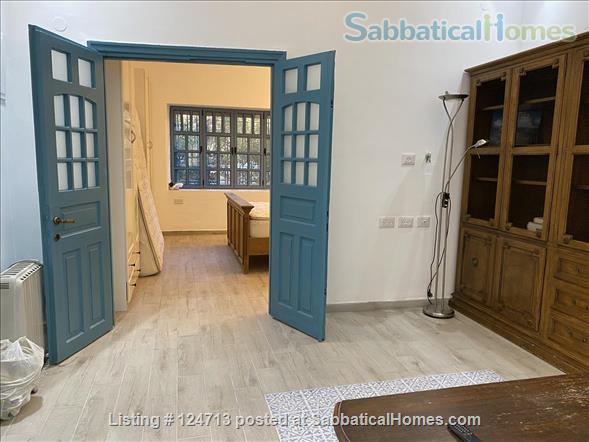 Beautiful 1 bedroom off of Emek Rephaim with private garden Home Rental in Jerusalem, Jerusalem District, Israel 4