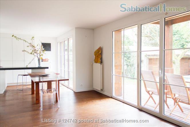 Modern design home with garden outside Paris, easy transport  Home Rental in Saint-Maur-des-Fossés, Île-de-France, France 4