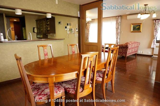 Tranquility and Convenience:  Fully furnished 4BR home in the historic Kamigamo Area (Northern Kyoto, Japan) Home Rental in Kyoto, Kyoto Prefecture, Japan 4