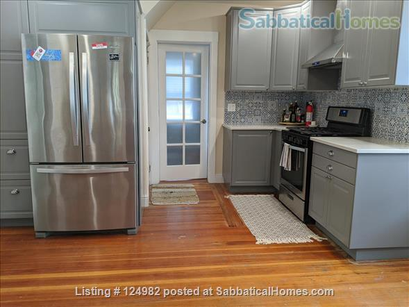Sunny apt with bedroom and office near Tufts, Harvard, & MIT - Util included Home Rental in Arlington, Massachusetts, United States 2