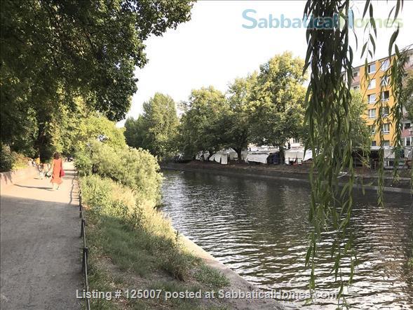 Sunny, calm, great view: Beautiful 2-room apt. in  Berlin-Kreuzberg Home Rental in Berlin, Berlin, Germany 8