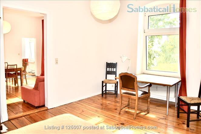 Sunny, calm, great view: Beautiful 2-room apt. in  Berlin-Kreuzberg Home Rental in Berlin, Berlin, Germany 2
